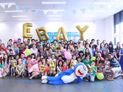 eBay哆啦A梦家庭日